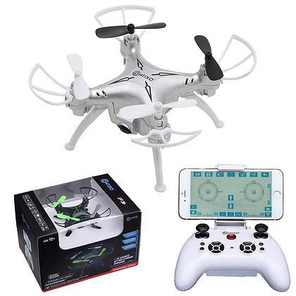 Contixo F3 RC Quadcopter Drone Silver