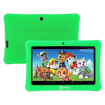 "Contixo K1 7"" Kids Tablet, Android 6.0 Dual Cameras Parental Controls (Green)"