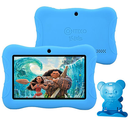 "Contixo K3 7"" Kids Tablet, Android 6.0 Dual Cameras Parental Controls (Blue)"