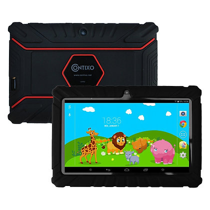 "Contixo K2 7"" Kids Tablet, Android 6.0 Dual Cameras Parental Controls (Black)"
