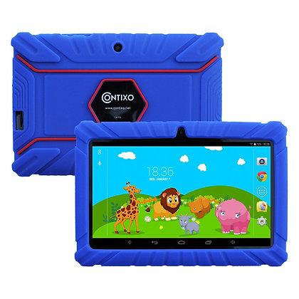 "Contixo K2 7"" Kids Tablet, Android 6.0 Dual Cameras Parental Controls (DarkBlue)"