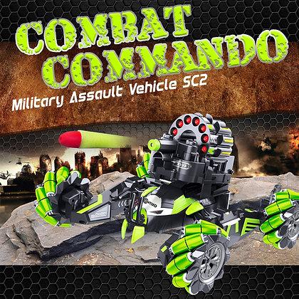 SC2 Combat Commando Military Assault Vehicle