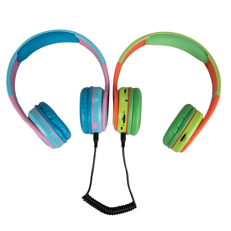 粉蓝 绿橙 耳机有线