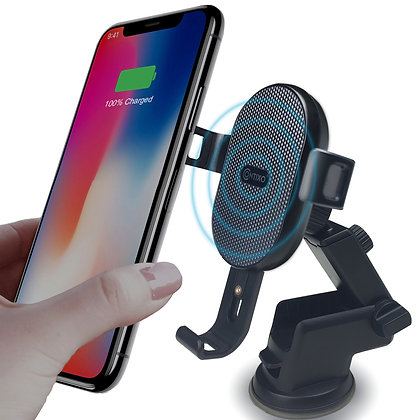 W1 Fast Wireless Charger Car Mount Holder