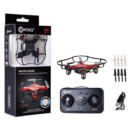 F2 Contixo Mini Pocket Drone Red
