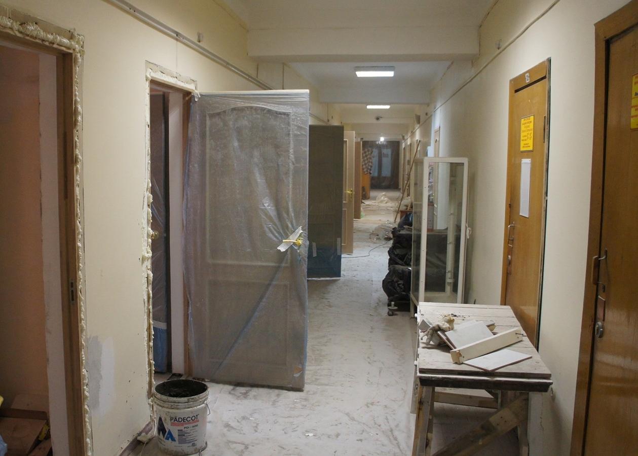 Установка дверей Санаторий Приморье г (1