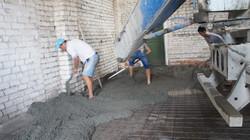 Стяжка в складе, бетонный пол в складе ф