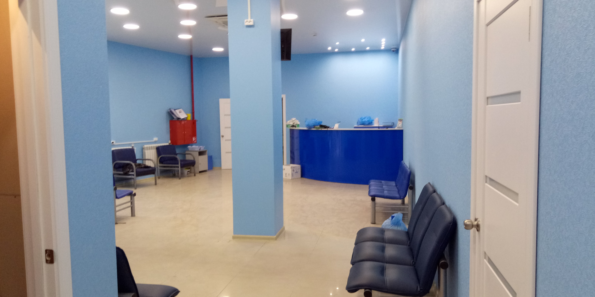 Строительство офисов Владивосток, ремонт