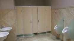 Установка дверей и перегородок из ДСП (2