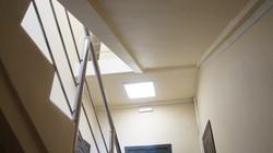 Установка дверей в офисе на Махалина (4)