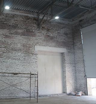 Побелка склада 300 кв.м. пос. Угловой  (