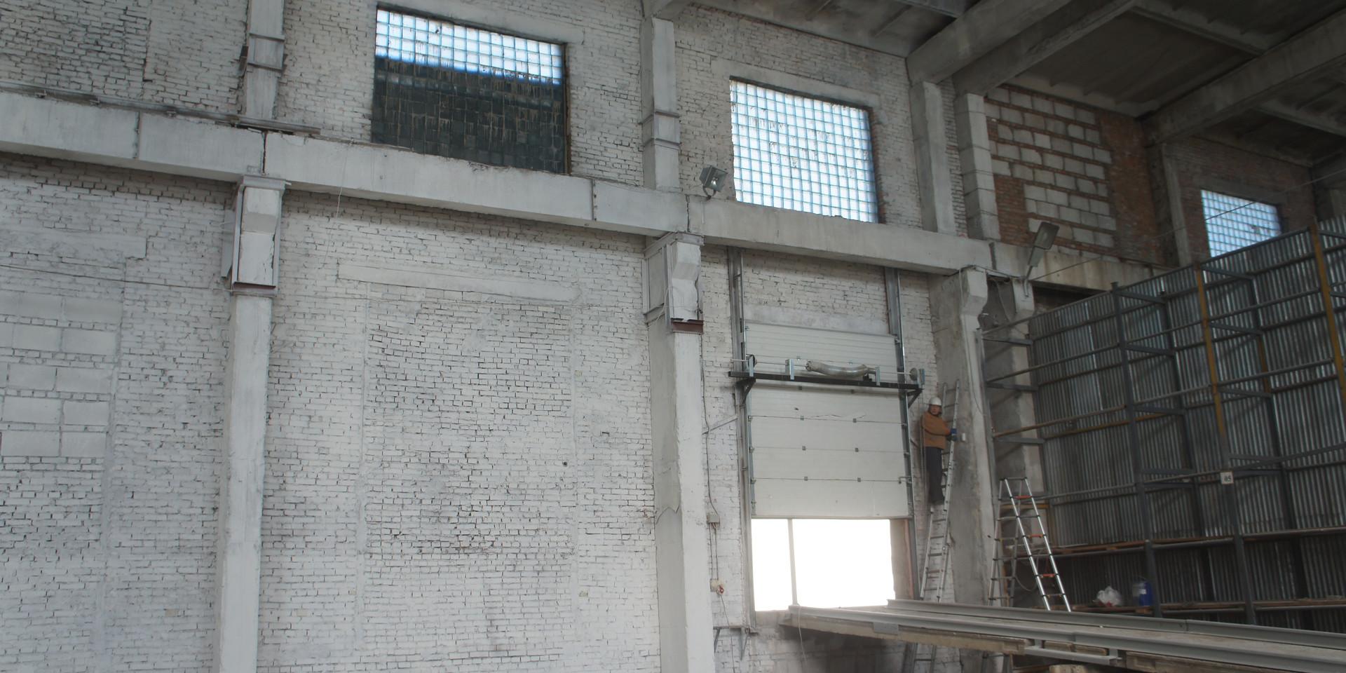 Побелка склада ПТК п. Угловой 2400 кв (2