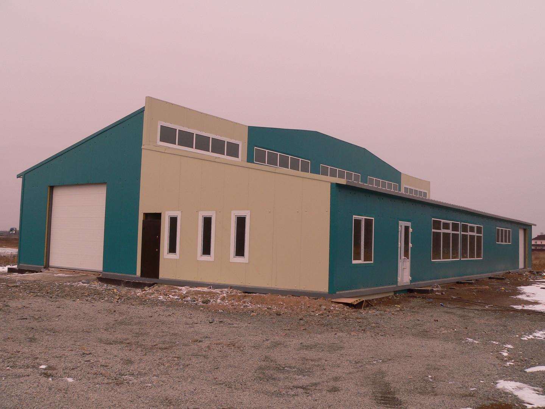 Строительство киосков и бытовок примоски