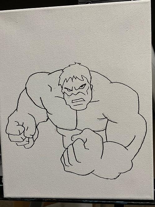 It's A Date! Paint Kit: Incredible Hulk