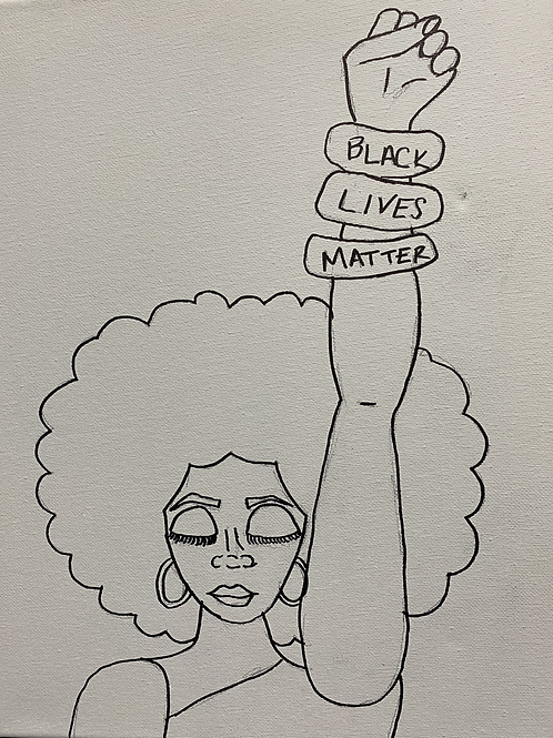 It's A Date! Paint Kit: Black Lives Matter Protest