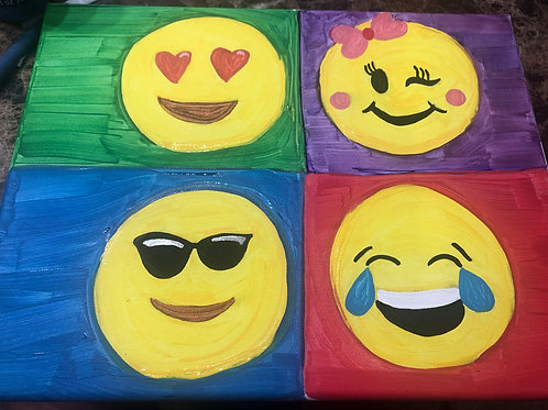 It's A Date! Paint Kit: Emoji
