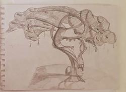 Дерево, карандаш. Автор_ Евгений