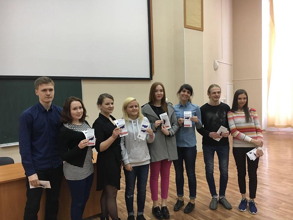 студенты- медики ПСПБГМУ