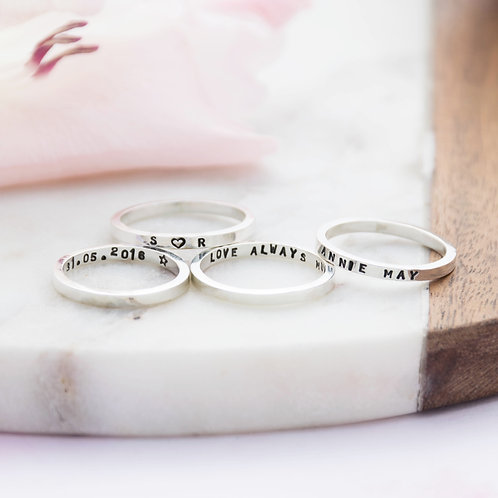 Skinny Message Ring
