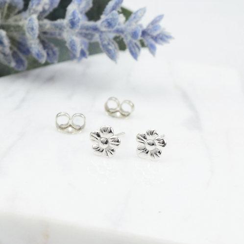 Tiny Flower Stud Earrings