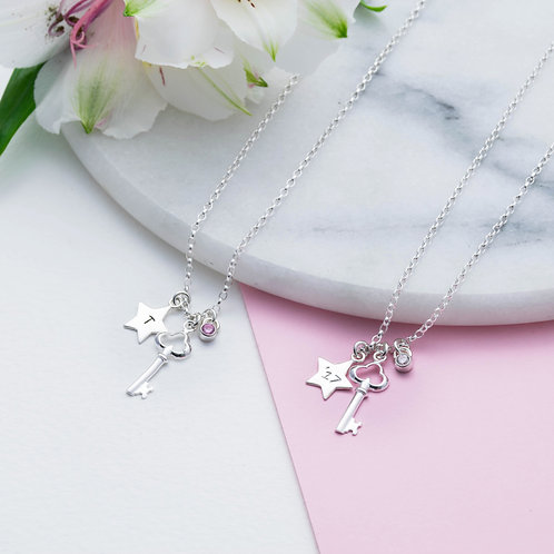 Graduate Key Necklace