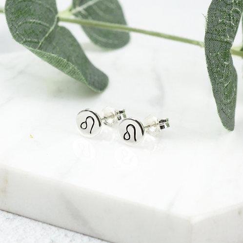 Zodiac Stud Earrings