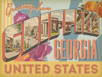 Custom graphic design which was turned into a wrap for an electrical box in Griffin, GA