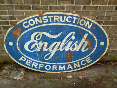 Faux rusted sign for a customer in Orchard Hill, GA
