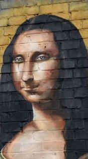 Hand painted mural restoration for Raging Burrito in Decatur, GA