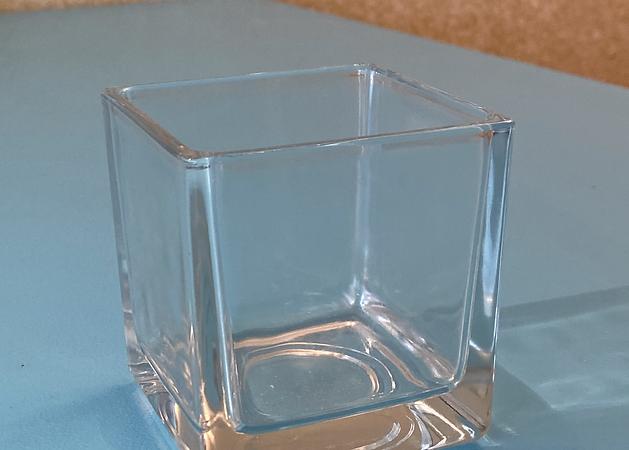 Würfelglas