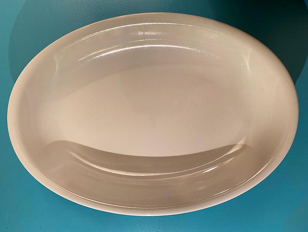 Porzellanplatte oval