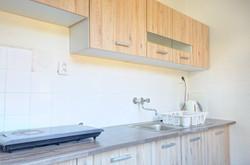 Plně vybavená kuchyň včetně veškerého nádobí