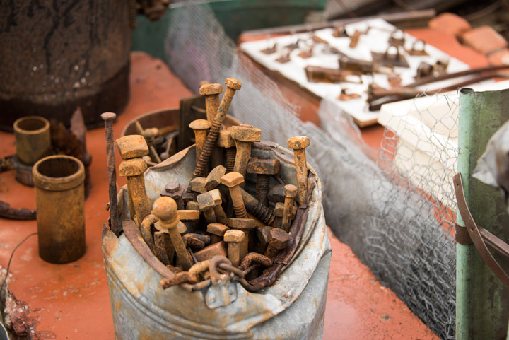 Sorted raw material