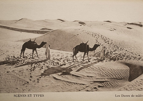 """Caravane d'hier"" traversant les dunes - Photo n° 6"