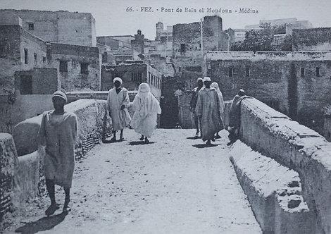 """""""Maroc d'hier"""" sur le pont Ben el Moudoun / Fès - Photo n°  31"""