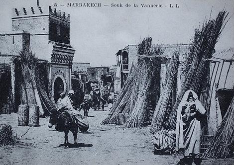 """""""Métiers d'hier"""" Souk de la vannerie - Photo n° 29"""