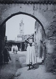 """""""Maroc d'hier"""" à l'entrée du souk de Taza - Photo n° 28"""