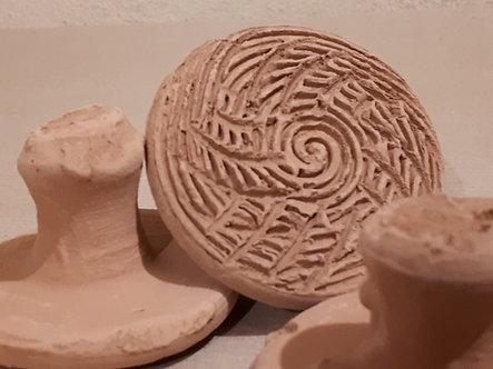 Disque de ponçage en argile / mhakka