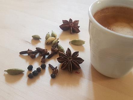 Café aux 8 épices 100 g.