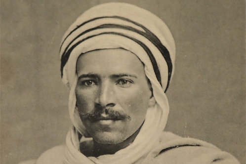 """Portrait d'hier"" Homme au turban - Photo n° 34"