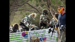 Paintball a great team game