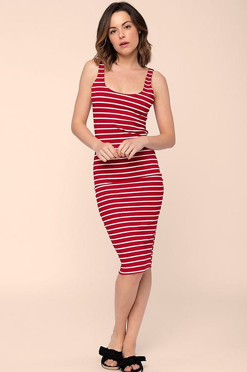 Vestido Midi Vermelho