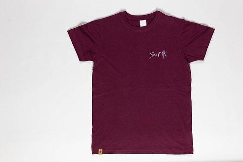 T'shirt Deep Man Rouge Bordeaux