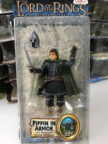 Pippin com armadura de Gondor