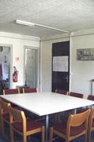 Petite salle de réunion de la chapelle de la Rencontre