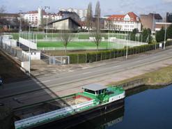 Vue depuis le canal