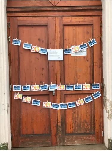 Actions cartes de Noël au Port du Rhin2020