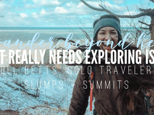 WHAT REALLY NEEDS EXPLORING IS YOU