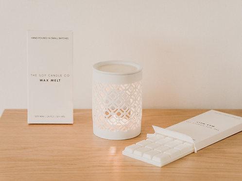 White Ceramic Burner