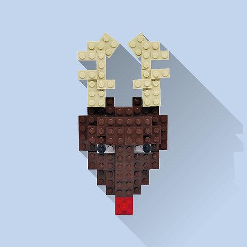 Lego Rudolph